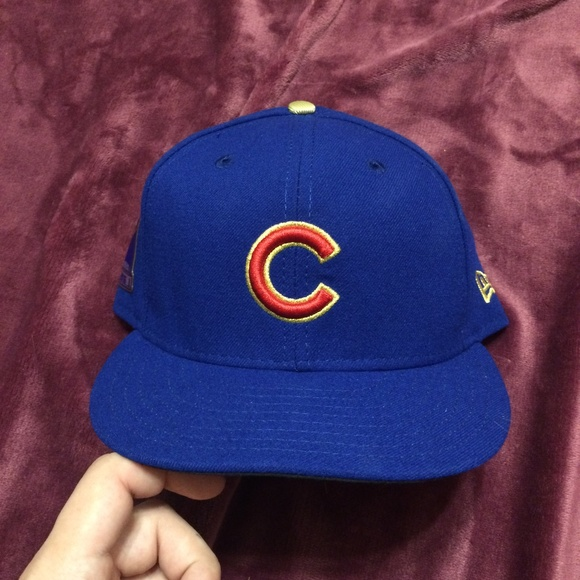 Cubs 2016 Trophy Hat Cap 7551db9458a